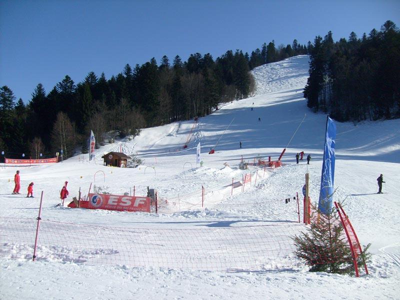 Station de ski la bresse ventron g rardmer hautes vosges for Piste de ski interieur
